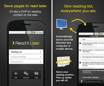 readitlater android app