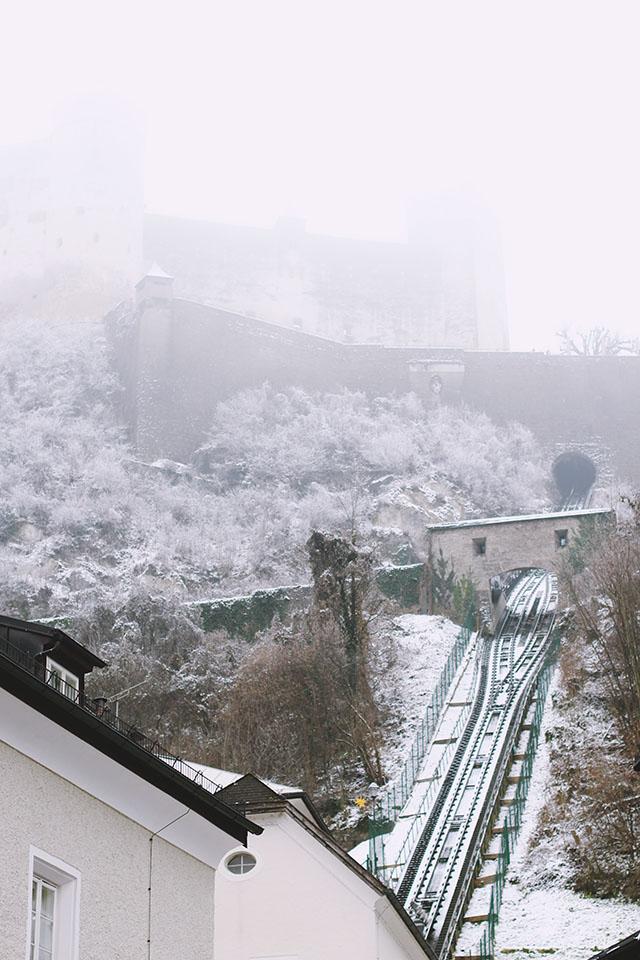 Hohensalzburg Fortress Fog