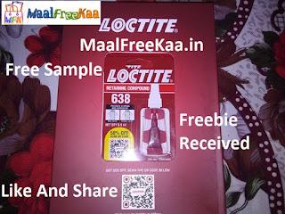 Free Sample Loctite
