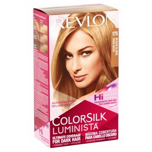 Revlon ColorSilk Medium Blonde thuốc nhuộm tóc màu 175  hàng Mỹ xách tay