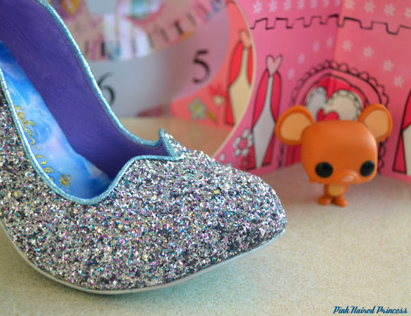 irregular choice sparkling slipper toe