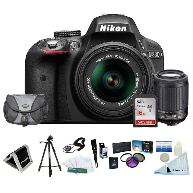 Ultimate Gift Guide for Photographers - DSLR Camera with Accessories - a wonderful gift set