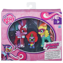 My Little Pony Power Ponies 3-pack Spike Brushable Pony
