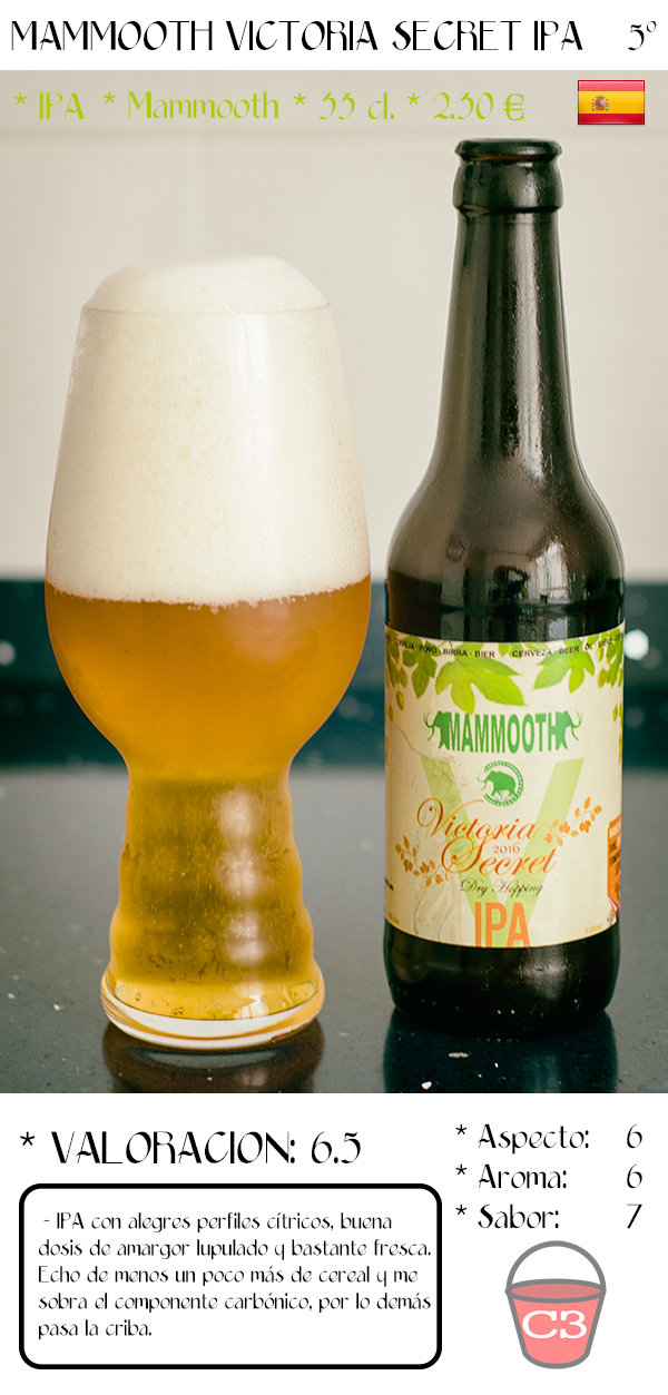 Mammooth Victoria Secret IPA