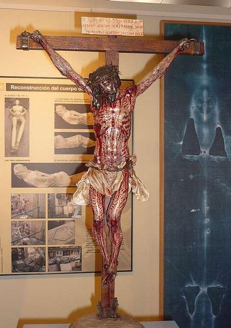 Cristo Cruxificado conforme o Sudário !!!