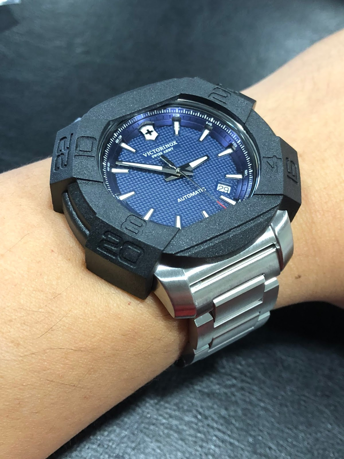 2ebddc1f85338 Below is the watch with the bumper case on my wrist. It does look a bit  like a G-Shock.