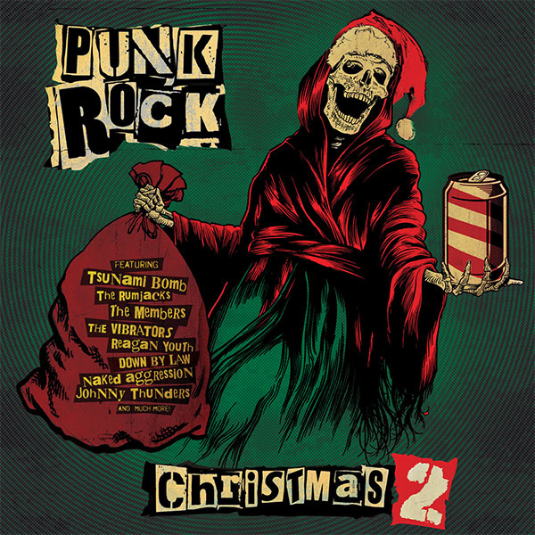 "Cleopatra Records stream new compilation ""Punk Rock Christmas 2"""