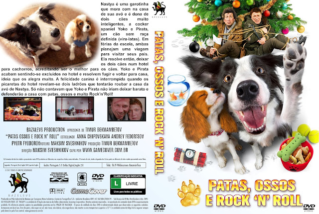 Capa DVD Patas Ossos E Rock'n'Roll [Exclusiva]