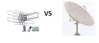 Kelebihan dan Kekurangan nonton TV Parabola dengan UHF