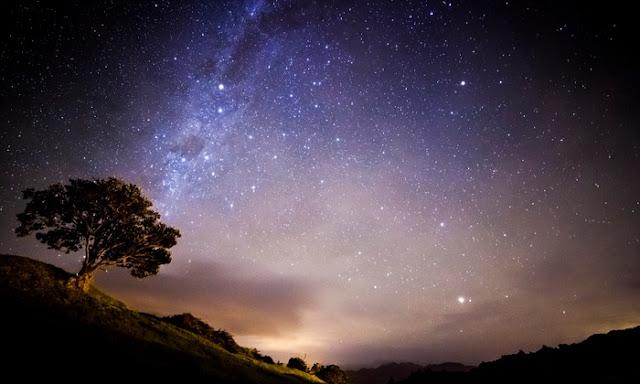 As estrelas no firmamento nos arrancam tamanha admiração...