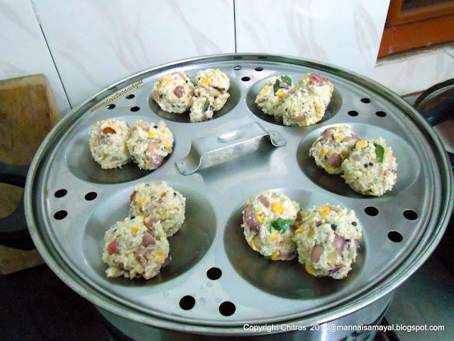 Kuthiraivaali Upma Kozhukattai [ Barnyard Millet Upma Dumpling ]