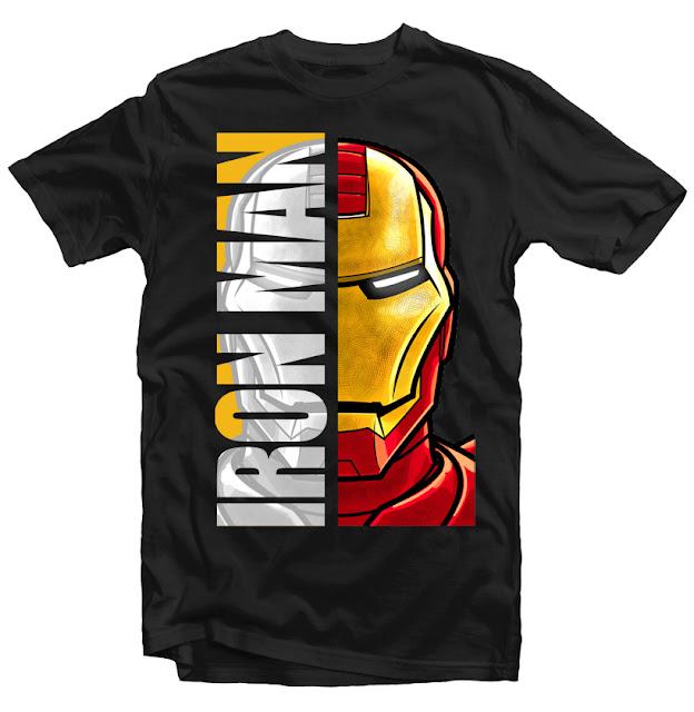 iron man tshirt design