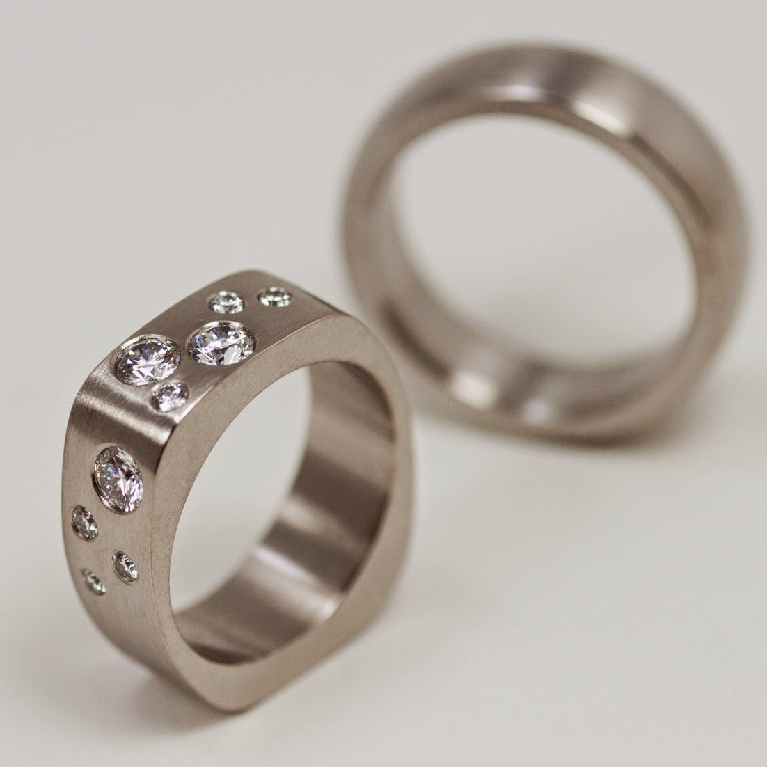 Here are some of the wedding rings I have made. More can be found via this  link. 467328d77df98