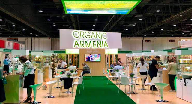 Productores orgánicos armenios asisten a exposición en Dubái