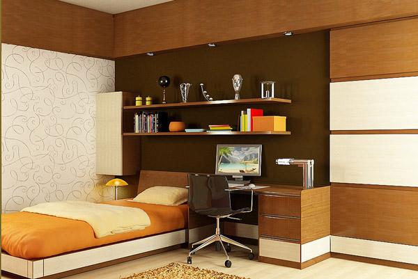 desain kamar tidur unik untuk anak rancangan desain