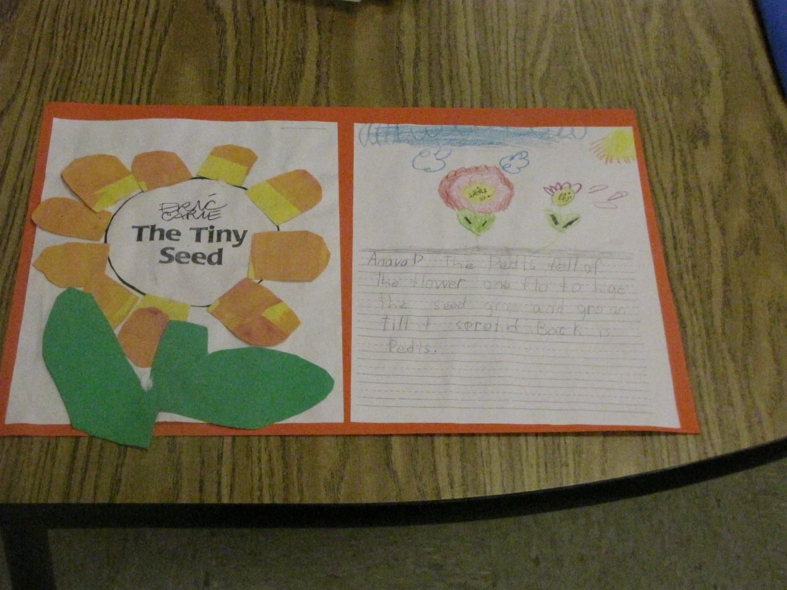 A Creative Classroom Eric Carle Unit The Tiny Seed