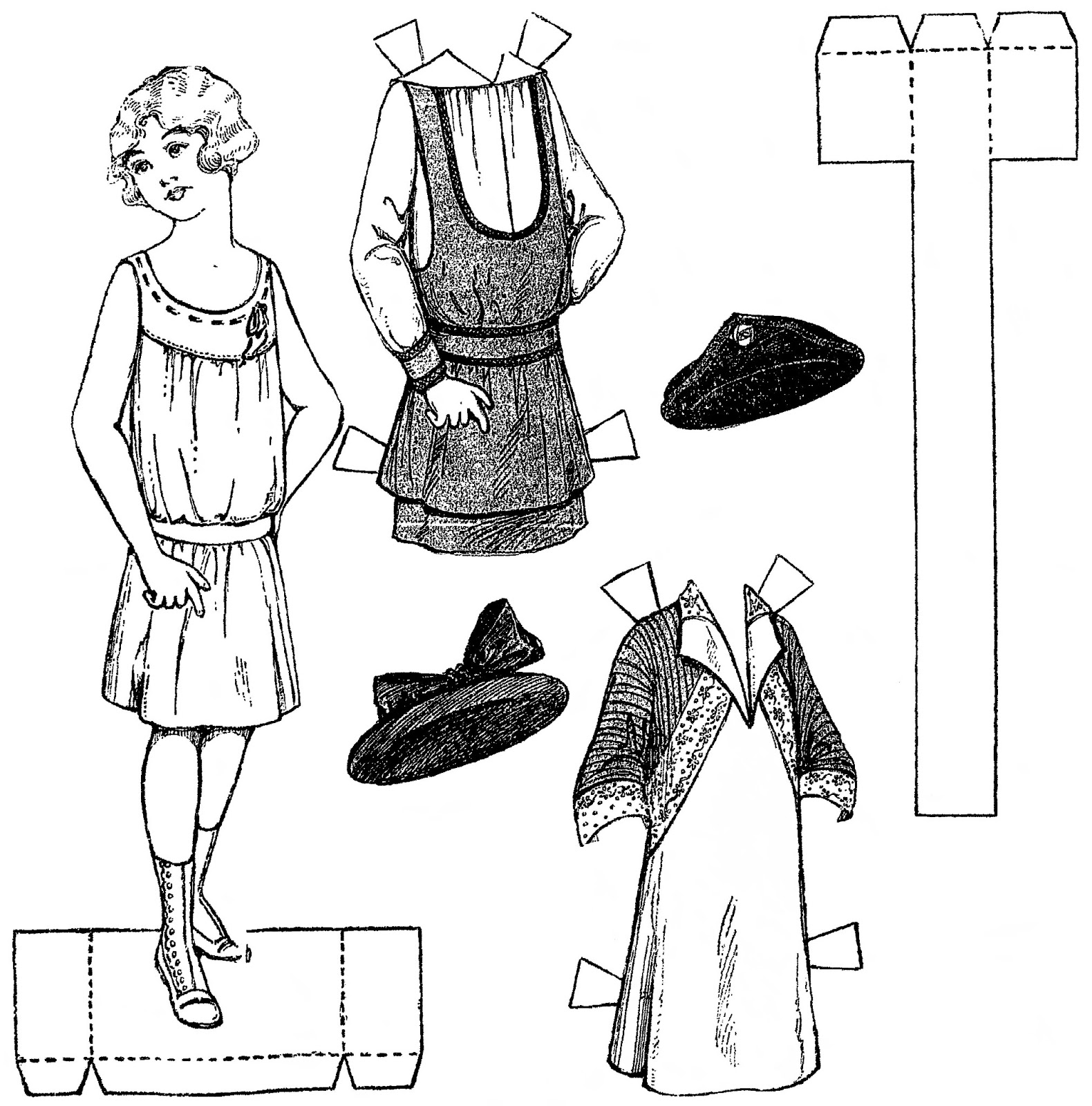 Mostly Paper Dolls Too!: A Young Girl Named RUBY