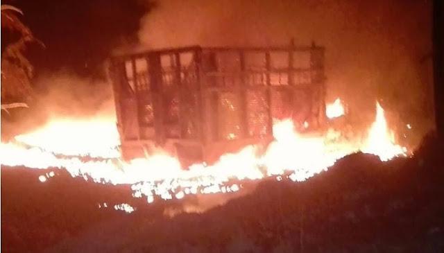 Humo, incendios Atlacomulco