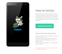 Xiaomi Unlocking Bootloader 7
