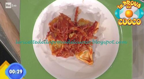 Cappellacci di spinaci con soffritto di speck ricetta Parizzi da Prova del Cuoco