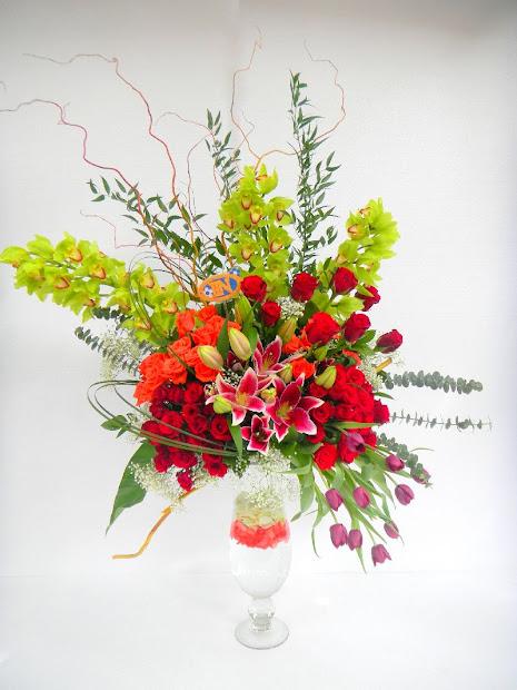 Contoh Rangkaian Bunga Segar Cara Merangkai Ala Vtwctr
