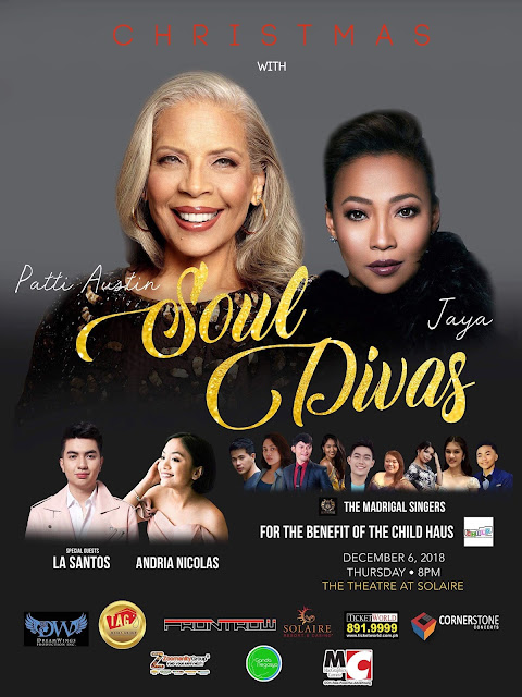 Christmas with the Soul Divas, Patti Austin and Jaya Concert