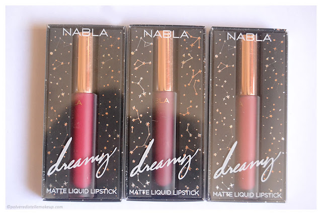 Dreamy Matte Liquid Lipstick Nabla Packaging