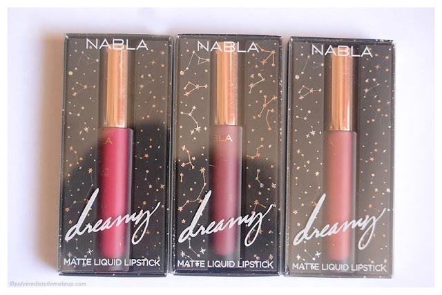 Dreamy Matte Liquid Lipstick Nabla Packaging
