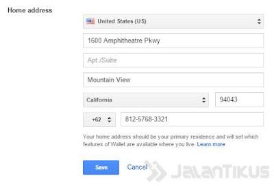 Membuat Konfigurasi Google Wallet