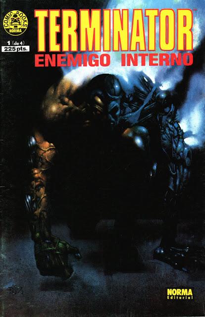 Terminator - Enemigo Interno - Portada