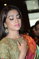 Shriya Saran Looks Stunning in Silk Saree at VRK Silk Showroom Launch Secundrabad ~  Exclusive 177.JPG