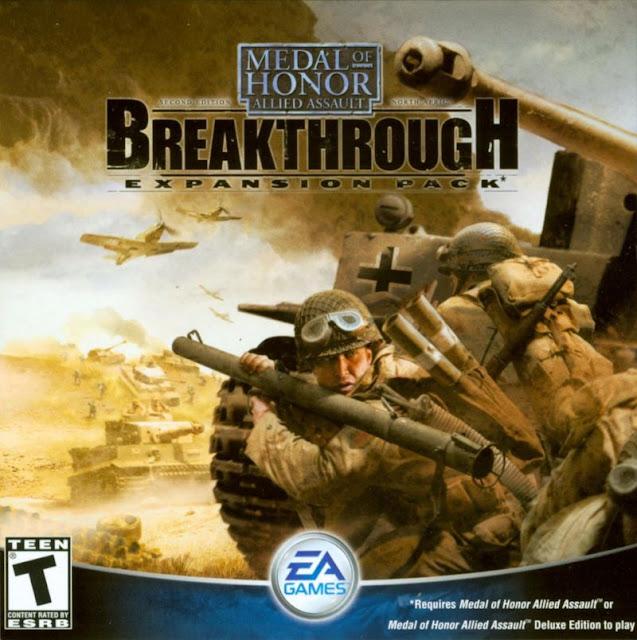 تحميل لعبة Medal Of Honor Allied Assault Breakthrough للكمبيوتر