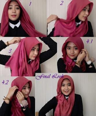 Tutorial Hijab Segi Empat 2016