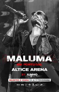 Concerto de Maluma no Altice Arena