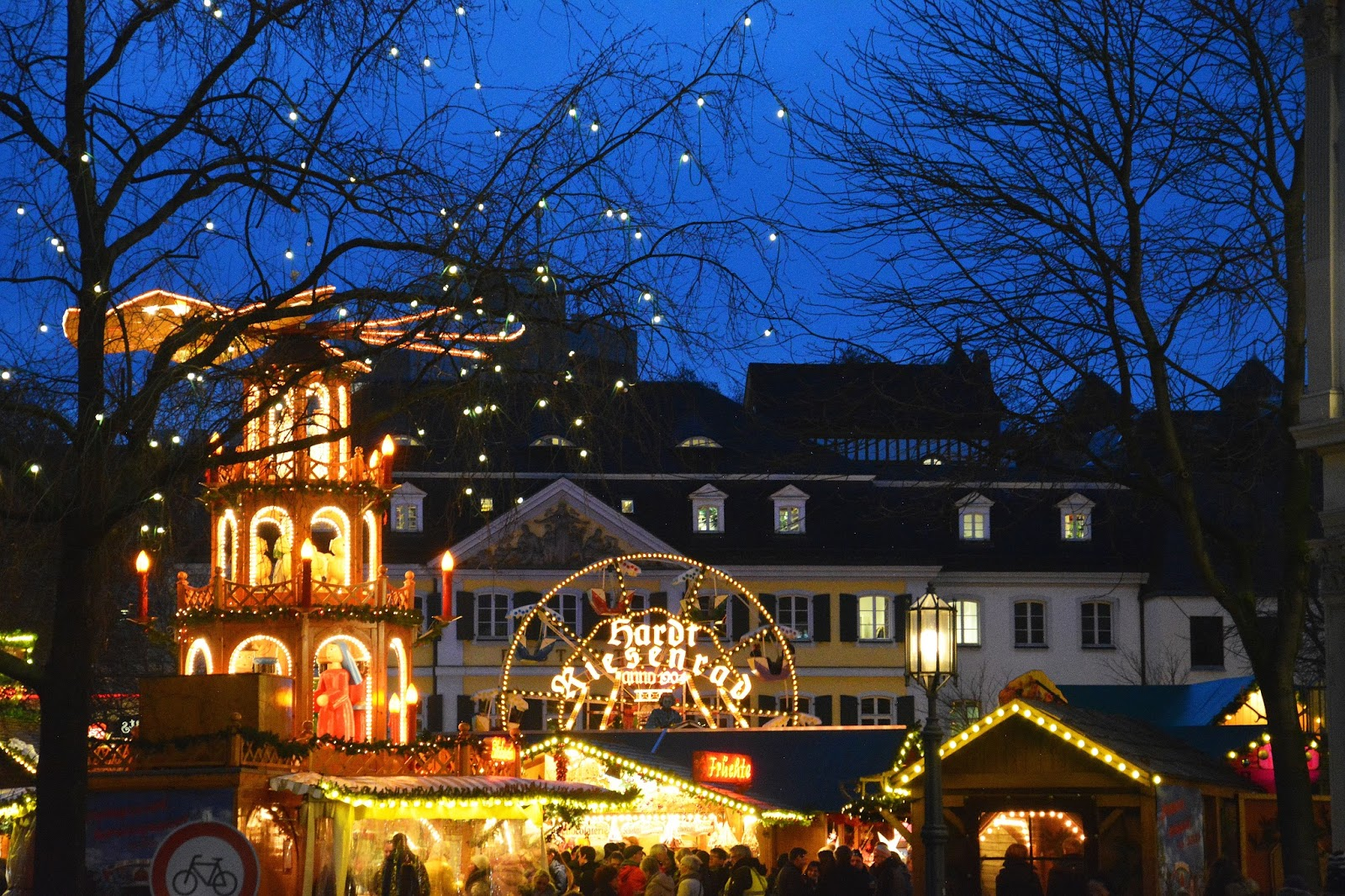Decorations Found Around the Christmas Market Bonn
