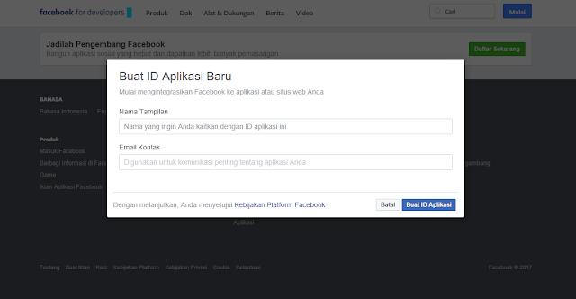 Cara Terbaru Mendapatkan ID Aplikasi Facebook - Riswan.net