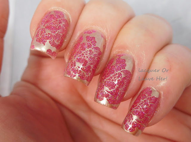 Top Shelf Lacquer Sex On The Beach + UberChic Beauty 9-02
