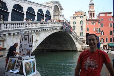 Ponte di Rialto in Venezia