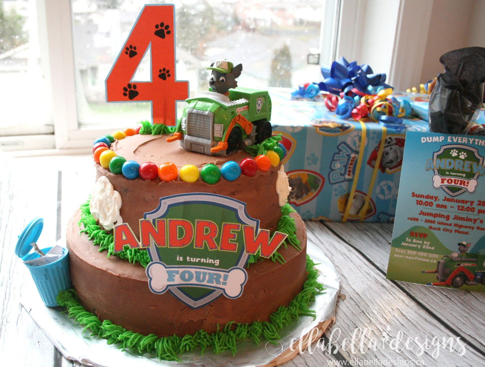 Ellabella Designs Paw Patrol Recycling Birthday Party Ideas