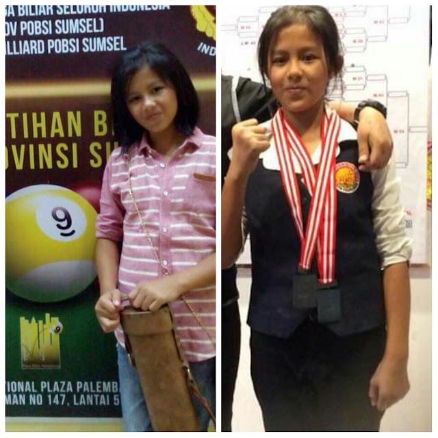 Atlit Biliard Putri Nasya Nabila Siap Bersaing Dalam SELEKDA