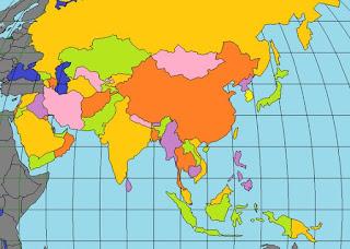 Keadaan Geografis Benua Asia