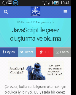 Android WebView Dersi