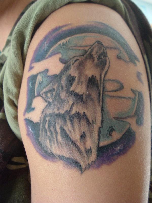 Wild Tattoos Wolf Tattoos For Men