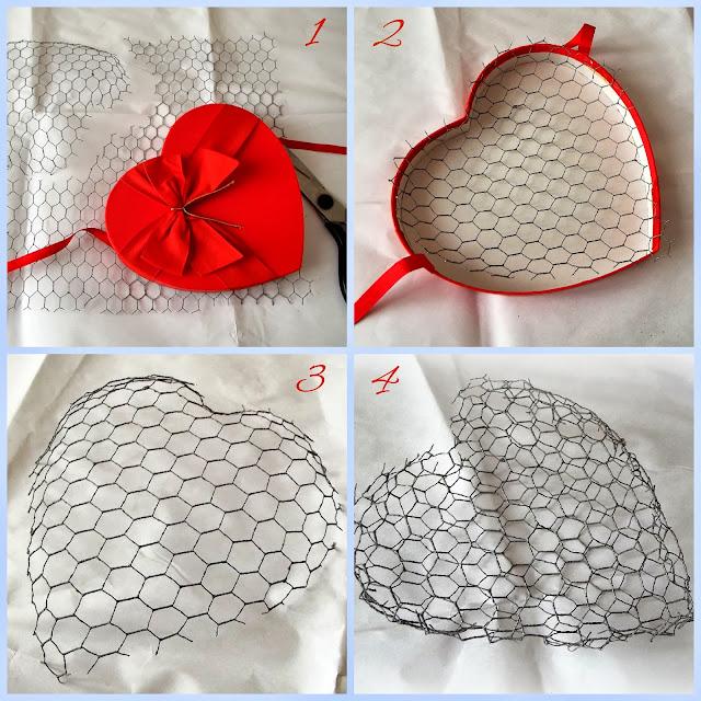 Come creare un cuore di rete da conigliera