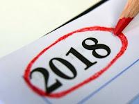 Kalender 2018: 5 Hari Cuti Bersama, 16 Hari Libur Nasional