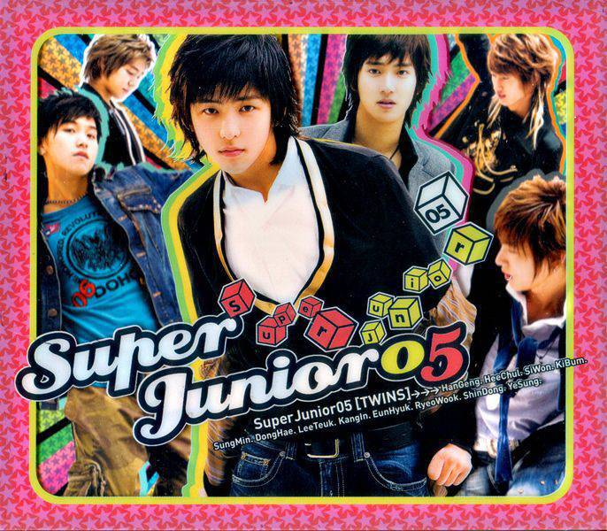 Download Super Junior - Super Junior 05 (Twins) [1st Album]