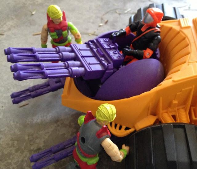 1992 Parasite, 1993 Nitro Viper, Cyber Viper