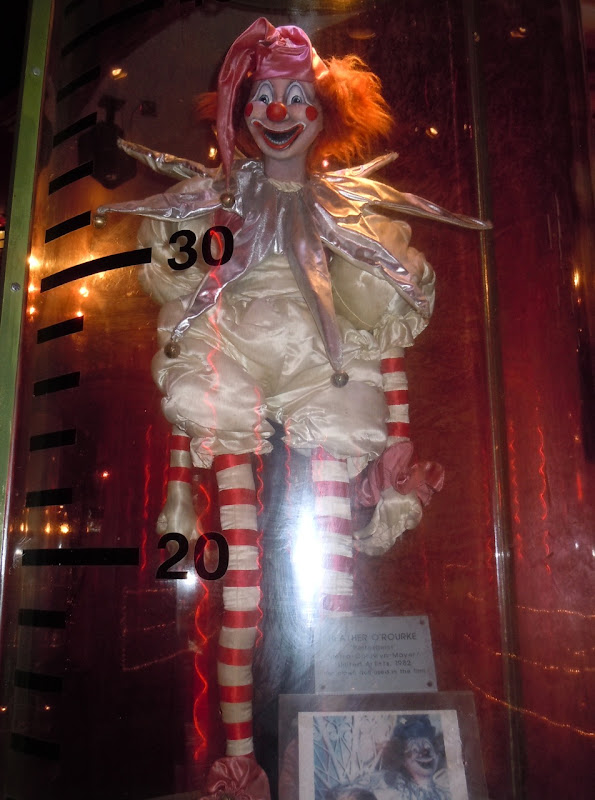 Poltergeist clown doll prop