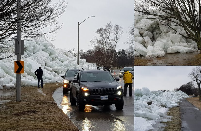 Tsunami di ghiaccio sorprende gli Stati Uniti.