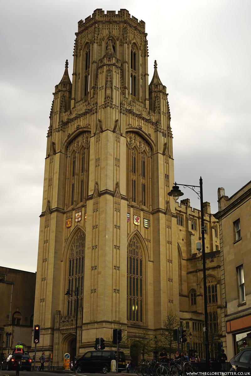 The Wills Memorial Building in Bristol
